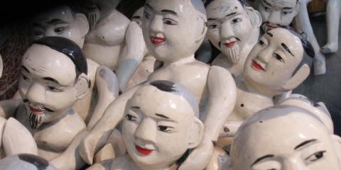 Water puppet theatre in Hanoi