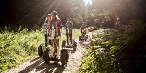 The Forest Segway experience with Go Ape.