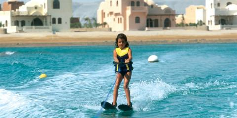 Water-skiing in El Gouna