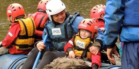 Rafting at Boreatton Park
