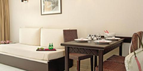 Apartment interior at Adagio Monaco Monte Cristo.