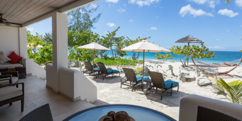 View of a Beach Suite at Spice Island.