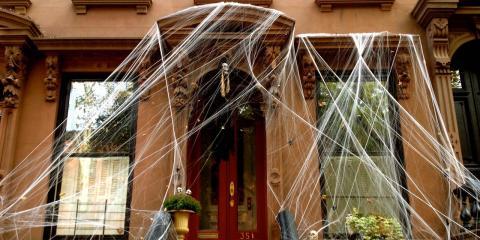 Halloween decorations in Brooklyn