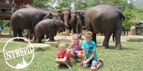 Intrepid family adventure holidays