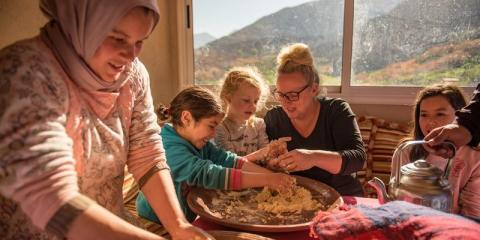 Morocco Family Adventure Holiday- perfect for those aged 5 and up.