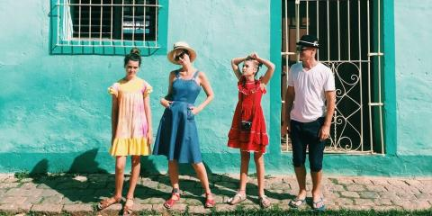 Keep it cool with the kids in Havana.