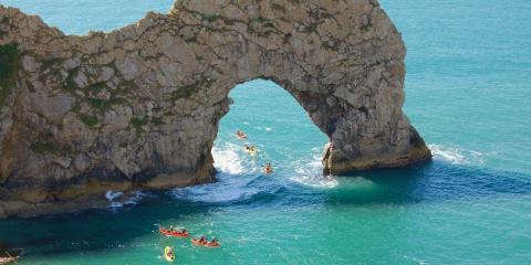 Canoeing in Dorset.