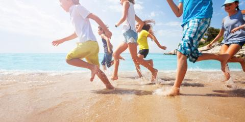 Mark Warner, Neilson and Club Med for active family holidays with childcare.