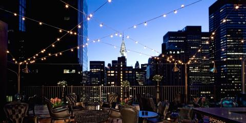 View of the Chrysler Building from the Kimberly Hotel