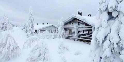 A Kelo cabin.