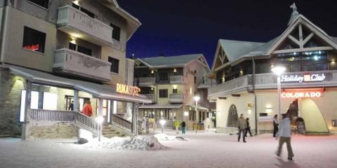 Exterior of Ruka Village Hotel and Apartments.