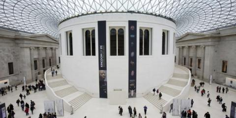Family friendly museums and arts (Great Court, British Museum)
