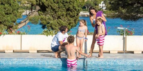 Pool time at Blau Privilege PortoPetro Beach Resort.