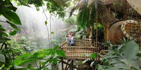 Jungle Dome at Center Parcs Het Heijderbos.