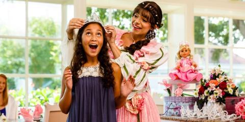 A Princess tea party at Disney's Grand Floridian Resort Spa.