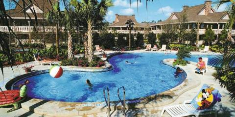 Pool complex at Disney's Port Orleans Resort - Riverside.