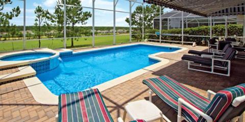 Pool at Villa Gleneagles Executive Plus, Orlando.