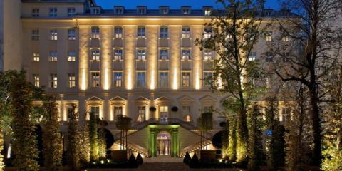 Facade of the Mark Luxury Hotel Prague.