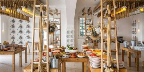 La Frasca Restaurant at Borgo Egnazia.