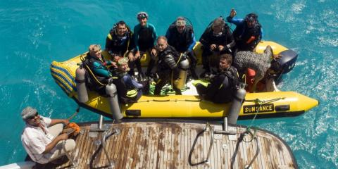 Family diving holidays