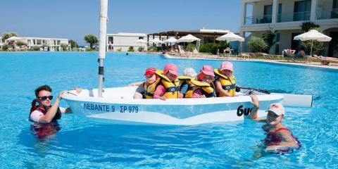 Fun in the Levante Beach Resort pool.