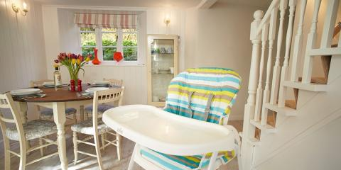 A tot-friendly holiday cottage.