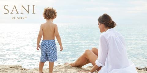 Sani Resort: Luxury modern beach hotels on an ecological reserve.