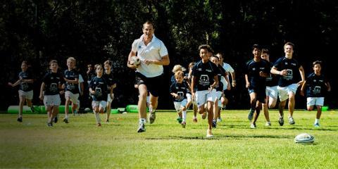 Rugby academy at Forte Village Resort.