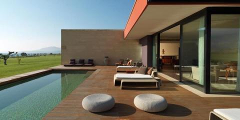 Villa terrace at Verdura Golf & Spa Resort.