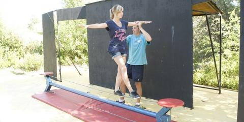 Learn to walk the tightrope at Holiday Village Pont Royal en Provence.
