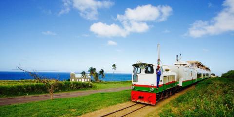 © St Kitt's Scenic Railway.