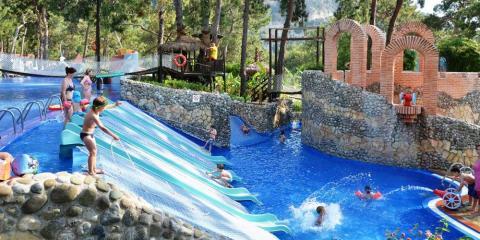 Children's Paradise splash play area at Liberty Hotels Lykia.