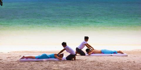 [copyright]Relaxation on the beach at The Andaman, a Luxury Collection Resort, Langkawi.[/copyright]