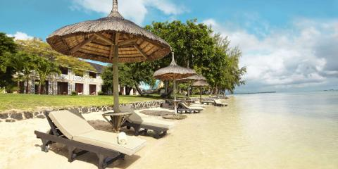 [copyright]Laze on the beach at Club Med La Pointe aux Canonniers, Mauritius.[/copyright]