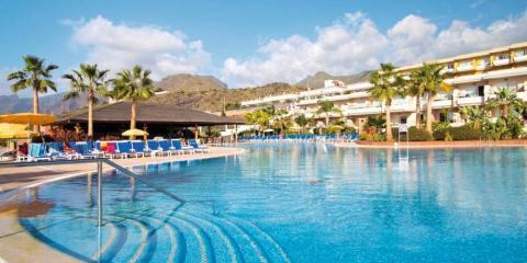 Main pool at Holiday Village Tenerife