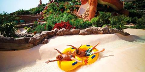 Fun in the water at GF Isabel & Siam Park Waterpark.