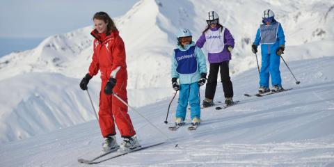Learning to ski with Club Med in Tignes Val Claret.