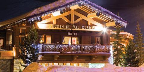 Exterior of Chalet Hotel L'Ecrin, Tignes.