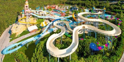 Waterpark at Aqua Fantasy Aquapark Hotel & Spa.