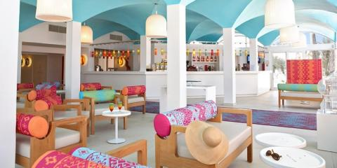 Relaxing bar area at Club Med Djerba La Douce.