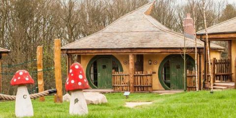 Enchanted Village at Alton Towers Resort.