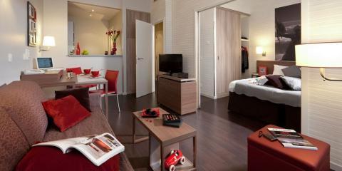 An interior at the Aparthotel Adagio