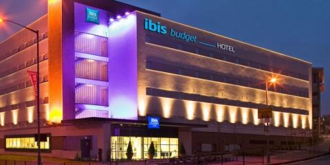 Exterior of the ibis budget