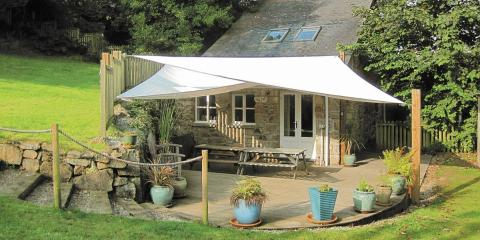 One of many family-friendly cottages in Cornwall.