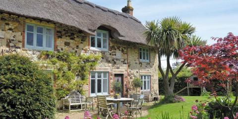 The stunning Priory Cottage on the Isle of Wight.