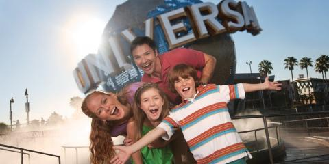 Family fun at Universal Orlando Resort.