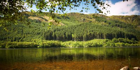 Strathyre Cabins on the shores of Loch Lubnaig