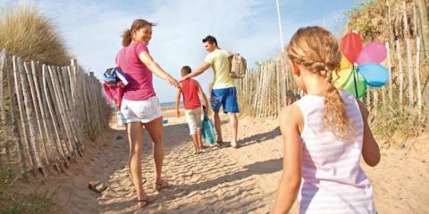 Heading for the beach at Talacre Beach.