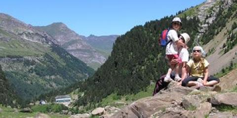 Summer family Pyrenees holiday: Hiking and Walking with Kids