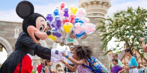Family fun at Walt Disney World Resort.